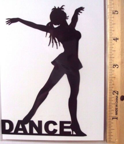 Girl Dancer Cardstock Dance Scrapbooking Black Paper Woman Paper Art