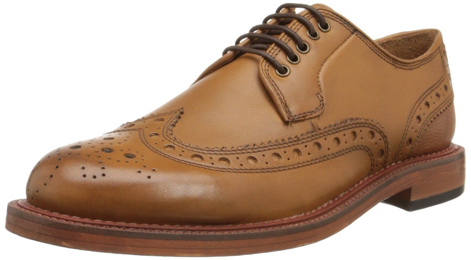 H by HUDSON TAN O'CONNOR MENS SMART LEATHER DERBY BROGUE SHOES BOOTS UK SZ 6-12