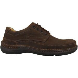 Details zu Clarks Nature Three Schuhe Herren Halbschuhe Leder Schnürschuhe ebony 20340682