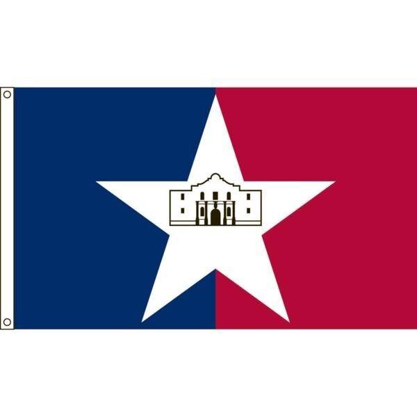 San Antonio City Nylon Nylon Nylon Flag 3'x5' 2d15c3