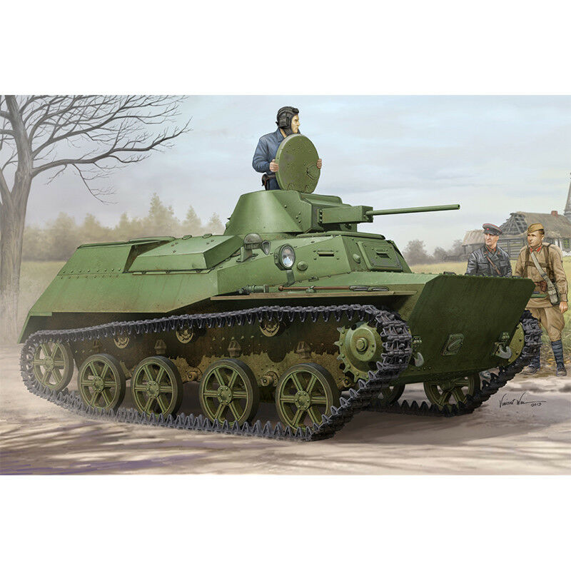 83824 Hobbyboss Soviet T-30S Light Tank Plastic Armored Car 1 35 Model Kit DIY