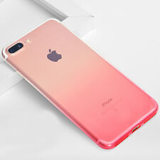 Pink Crystal Silicone Protective TPU Gel Jelly Skin Cover Case For iPhone 7 A