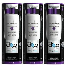 3 Pack Whirlpool EveryDrop EDR1RXD1 W10295370A  Refrigerator Water Filter