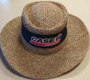 2c49de6040a Image is loading Case-IH-Straw-Hat-with-Liner-and-Hat-