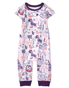 NEW Gymboree Baby Girls Sze 3-6 Mo One Piece Short Outfit Romper Bodysuit $29.95