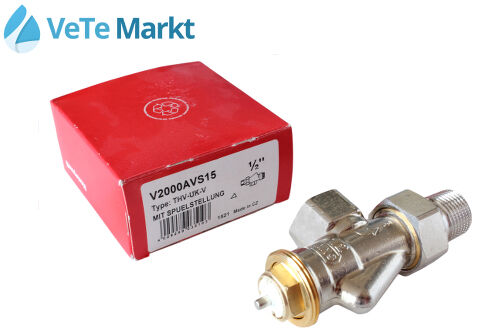 Honeywell Thermostat Valve Default Setting 1 2 Axial Type Thv Uk V V2000AVS15 For Sale Online