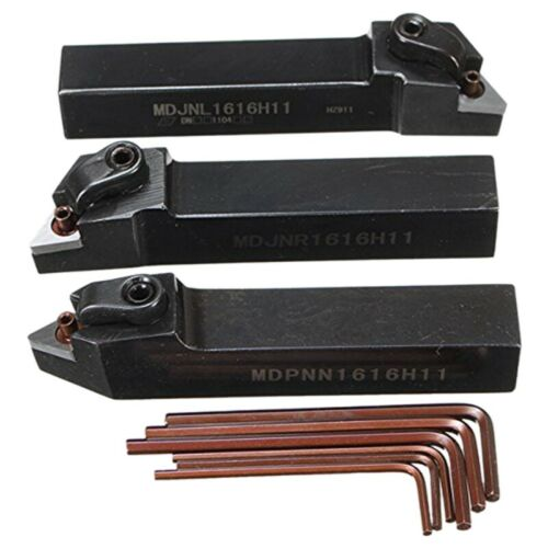 3-Teiliges 16-Mm-Drehwerkzeughalter-Set MDJNL1616H11 MDPNN1616H11 MDJNR1616 A5M7