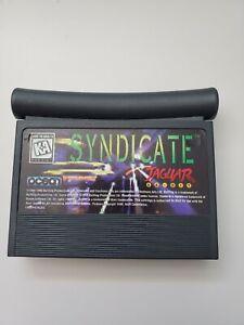 Syndicate Game for Atari Jaguar WORKS! Cart only