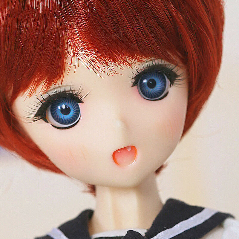 1 6 BJD Doll SD Doll Tsubaki Moe  -frei Face Make Up+ frei Eyes