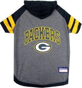 Green-Bay-Packers-NFL-Sporty-Dog-Pet-Hoodie-T-Shirt-Sizes-XS-L