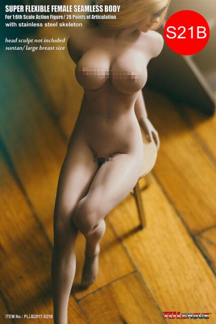 TBLeague GIRL 1/6 Seamless Suntan Female Body S21B 12'' Flexible Action Figure