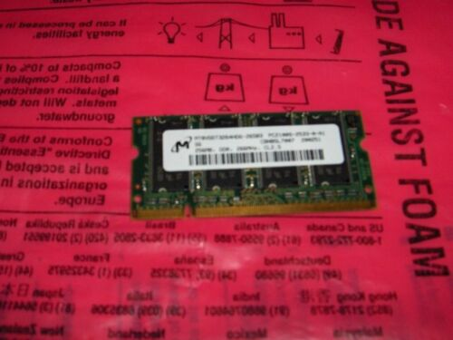 Micron MT8VDDT3264HDG-265B3 PC2100S MT8VDDT3264HDG-265B3 Micron Technology Inc