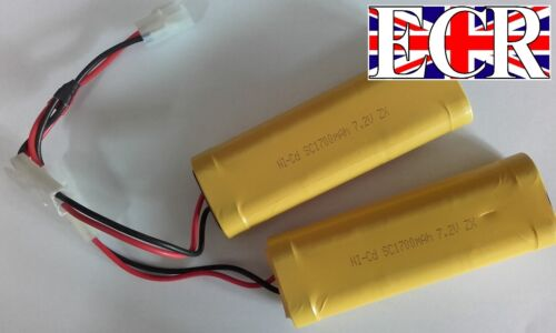 PARALLEL JOINER BATTERY1700mah 7.2v BATTERIES G SCALE RC RAILWAY TRAIN LOCO BOAT