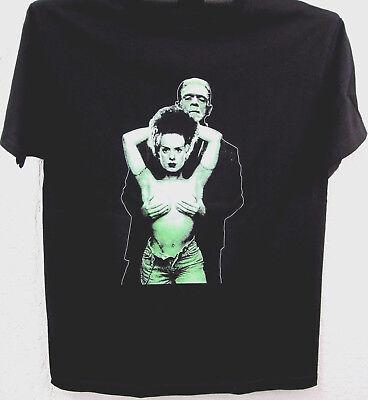 Authentic BRIDE OF FRANKENSTEIN Green Bride T-Shirt S M L XL 2XL NEW