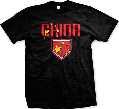 CHINA CHINESE FLAG EMBLEM T-SHIRT ALL SIZES /& COLOURS