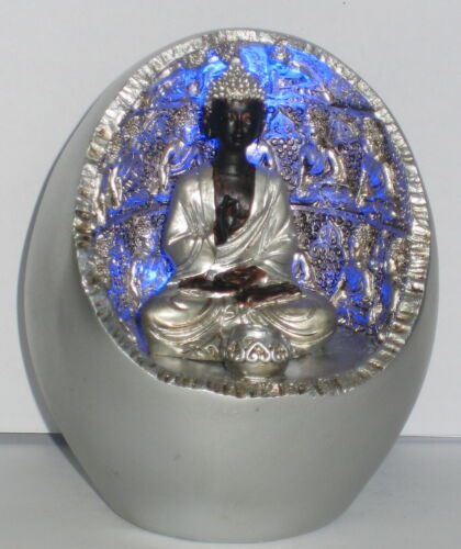 Buddha Tempel beleuchtet für Räucherstäbchen Feng Shui 10x8x8cm 3