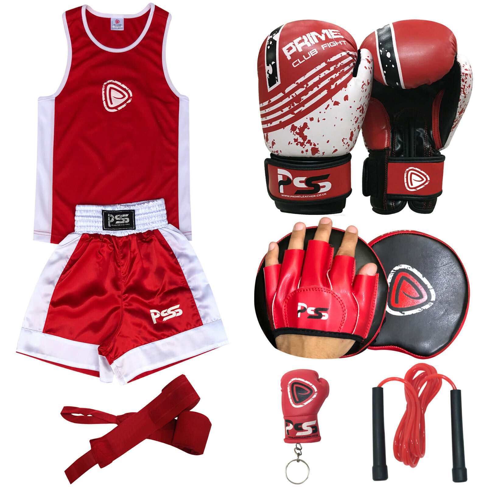 New Kids Boxing Gloves Punching Training Bag Gloves Muay Thai Grappling 1004