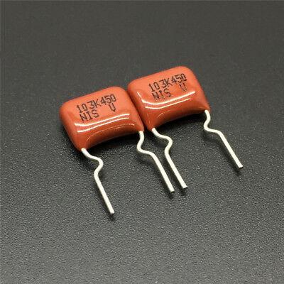 10//100PCS CBB NISSEI MMD 473J 125V 0.047uF 47nF P7.5 Metallized Film Capacitor