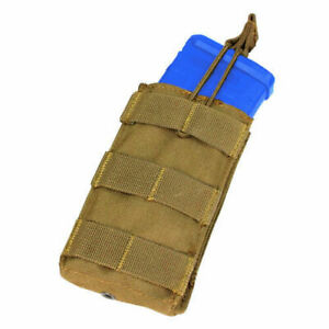 CONDOR-MA18-Fits-Single-Open-Top-Pouch-MOLLE-Coyote-Brown