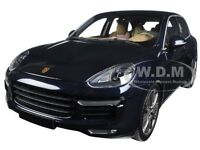 2014 Porsche Cayenne Turbo S Blue Metallic 504pcs 1/18 Minichamps 110064001