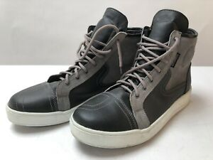 Spada-Strider-Motorcycle-Boots-Shoes-short-boot-leather-suede-black-grey-10-45