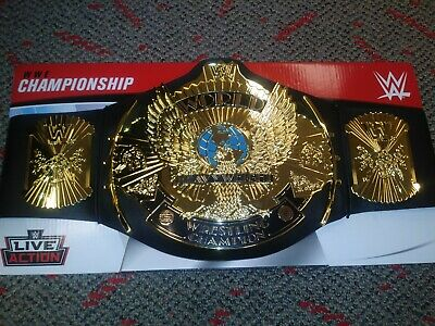 WWE World Heavyweight Championship Title Belt Mattel FOR WRESTLING FIGURES WWF