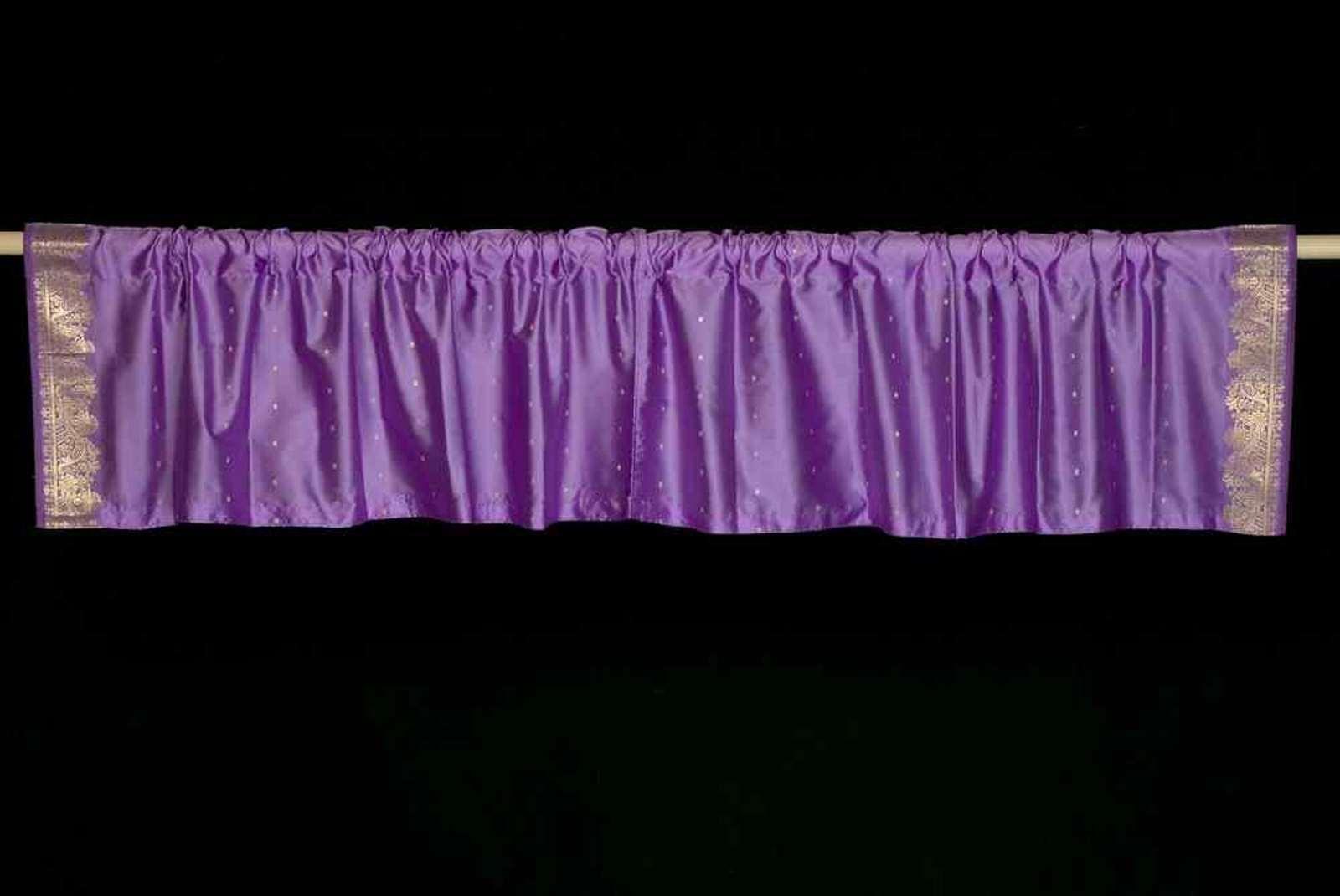Lavendel - Stab Tasche Oben es aus Handgefertigt Sari Volant Volant Volant - Paar | Zu verkaufen  | Die Qualität Und Die Verbraucher Zunächst  152ae3