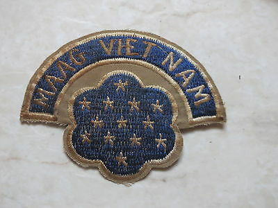 MAAG LAOS Military Assistance Advisory , VIETNAM WAR PATCH , MAAG LOS