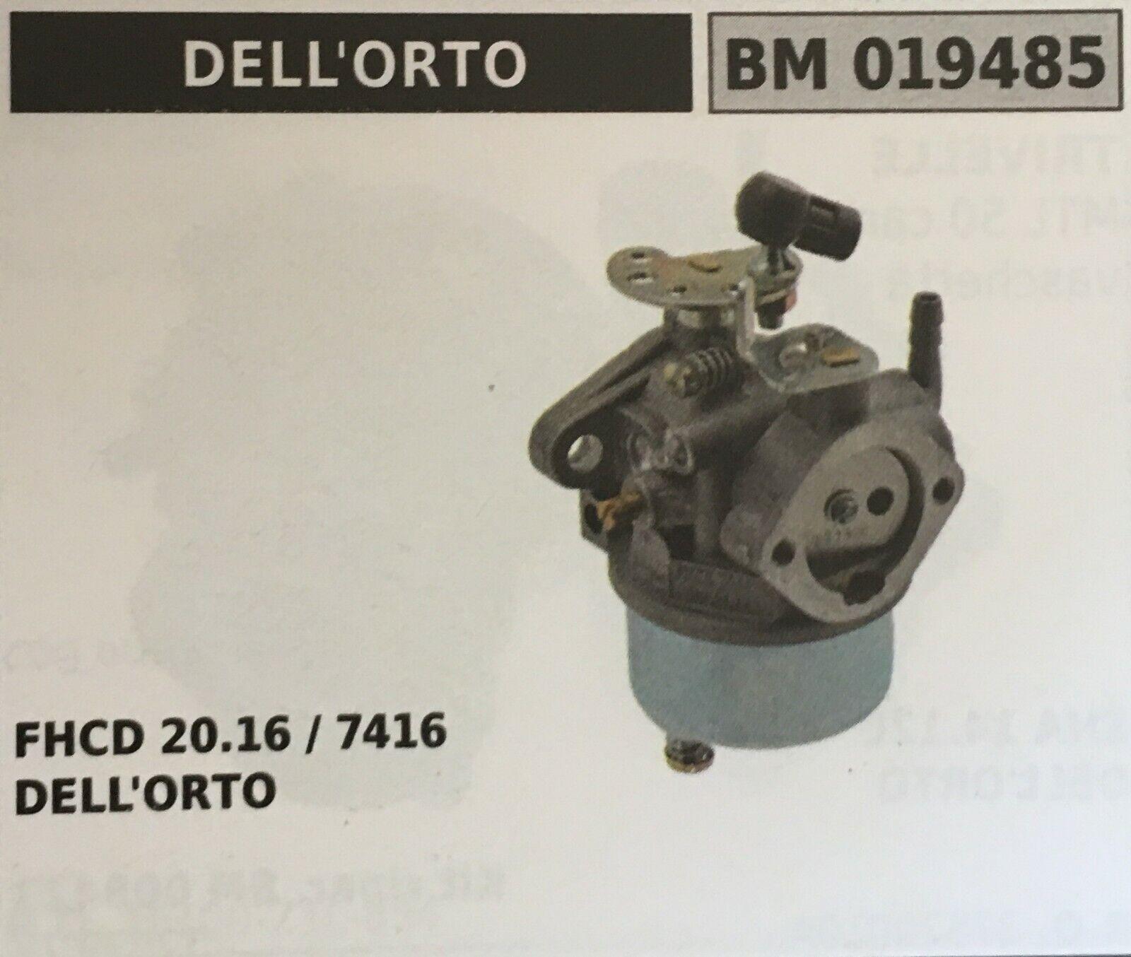 Cocheburador a Tanque Brumar Dell'Orto BM019485