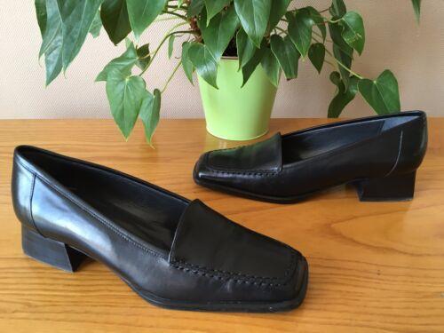 38 pelle nera in Eu Ladies 5 scarpe stile Bally Frattasio Mocassino Uk C6qgZxRSw