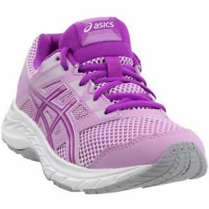 ASICS-Gel-Contend-5-Grade-School-Big-Kid-Casual-Running-Shoes-Purple-Girls