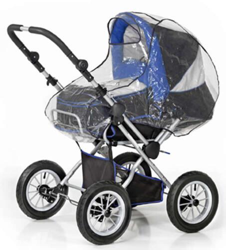 Regenschutz für Kinderwagen Regenhaube Regenverdeck