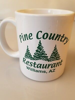 4e1c05fd92e HISTORIC ROUTE 66 THE MOTHER ROAD COFFEE MUG PINE COUNTRY RESTAURANT  WILLIAMS AZ | eBay