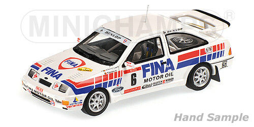 Minichamps 437898006 - FORD SIERRA RS COSWORTH DROGMANNS YPRES 1989 1 43