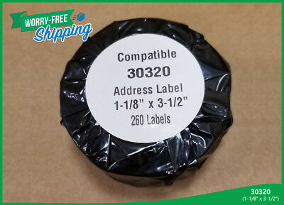 Address Labels 30320 Postage Shipping Name Badges Compatible w// Dymo LabelWriter