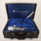 Vintage Aiwa Velocity VM-15 Ribbon Microphone Japan Model With Box RCA Clone