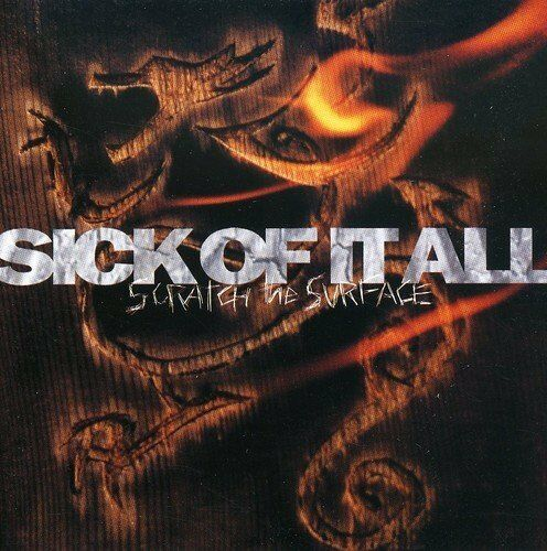 1 of 1 - Sick Of It All - Scratch The Surface - Sick Of It All CD SAVG The Cheap Fast