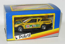 Original Polistil - Made in Italy - Renault GTA Alpine Turbo Racing