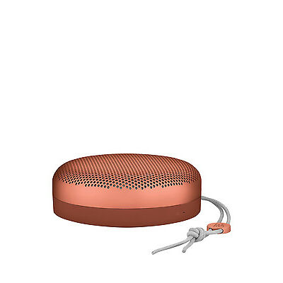 NEW B&O PLAY BeoPlay A1 Bluetooth Speaker - Tangerine Red