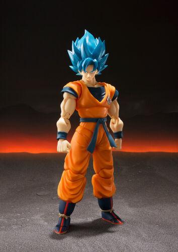 Figuarts DragonBall Super Broly Super Saiyan Goku God NUOVO Bandai S.H