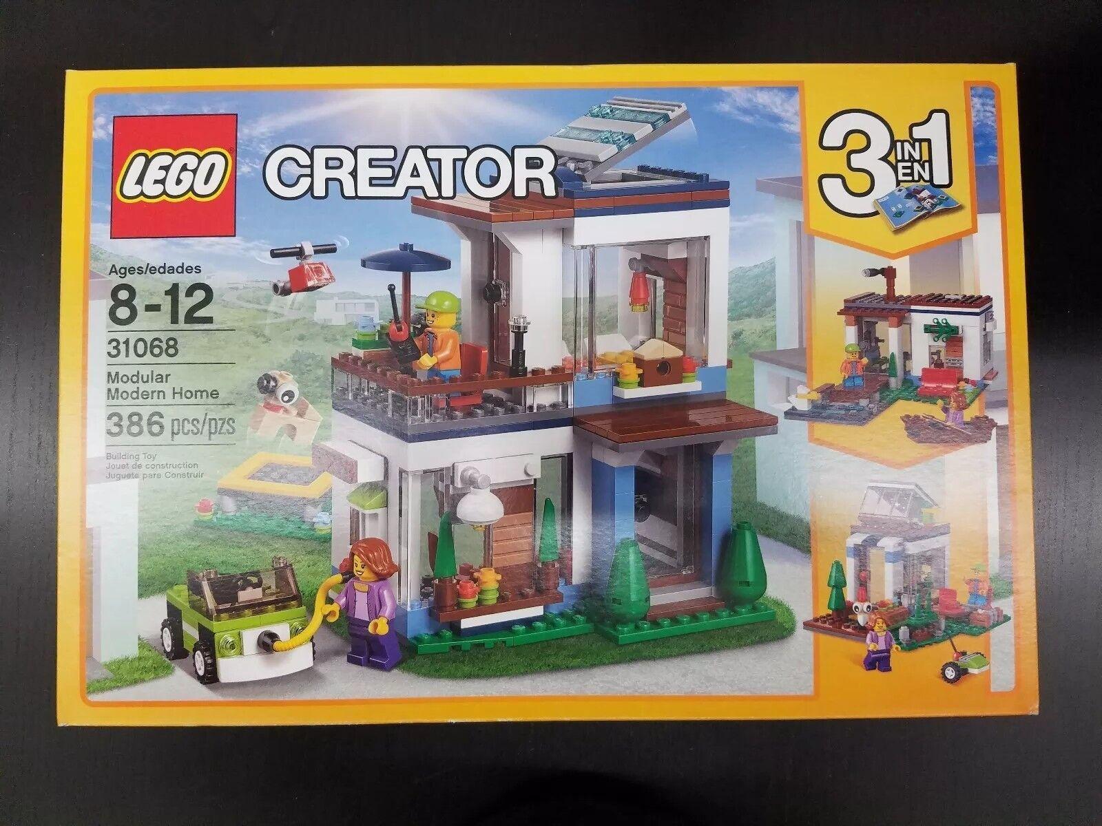 4LEGO  31068 Creator Modular Modern Home costruzione Set  nuovo RARE Retirosso  alta qualità generale