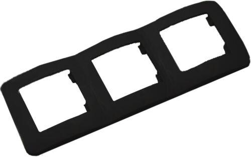 Schalter Rahmen Dimmer Taster Wechselschalter Steckdosen Steckdose