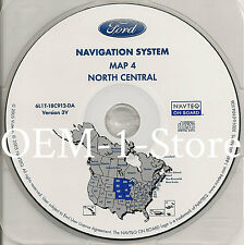 05 2006 07 FORD ESCAPE NAVIGATION MAP DISC CD NORTH CENTRAL NE KS MN IA MO ND SD