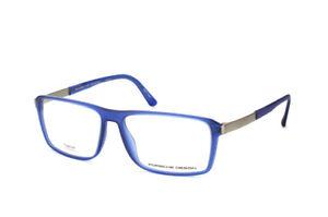 75fe57351936 Porsche Design Titanium Eyeglasses P8259 B Blue - 57-15 - Unisex ...