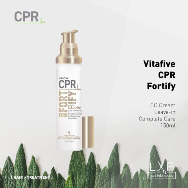 Vita 5 CPR Fortify CC Creme Leave-in Complete Care 150ml (VitaFive) Quinoa 13in1
