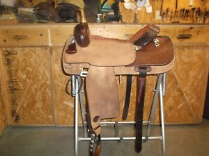16 1/2'' Hereford Cutting Saddle