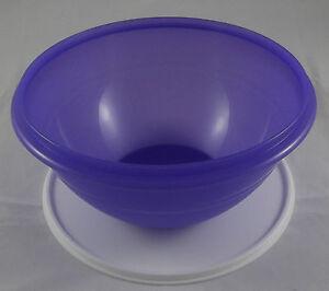 Tupperware-Wunderschuessel-2-5-l-Schuessel-mit-Deckel-Blaulila-Lila-Weiss-Neu-OVP