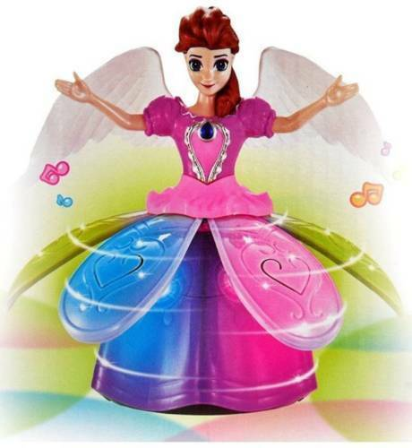 Bambola-Fata-QUEEN-MUSICAL LIGHT-UP-BALLA-giocattolo LED-BAMBOLA-GIOCATTOLI-si