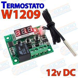 Control-de-temperatura-W1209-12v-DC-termostato-incubadora-invernadero-acuario