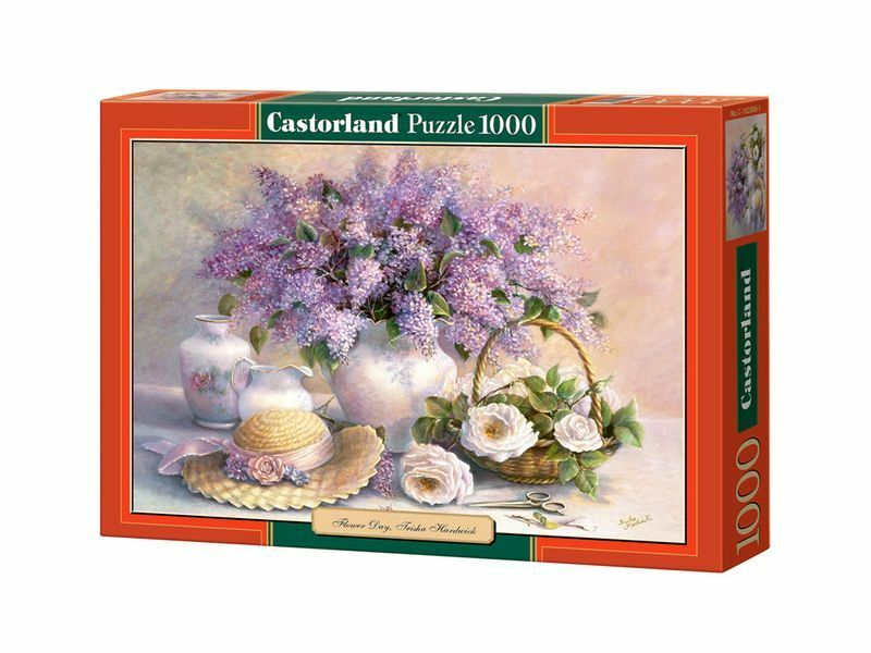 Castorland Puzzle 1000 Pieces - Flower Day 68x47cm 27 x18.5  Sealed box C-102006